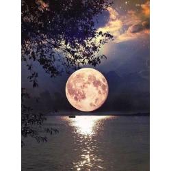 Měsíc nad vodou