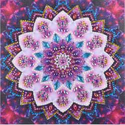 Růžová mandala