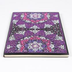 Zápisník fialový květ