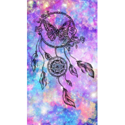 Lapač snů - černý motýl