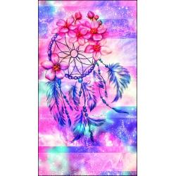 Lapač snů růžový květ