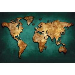 Zelená mapa světa
