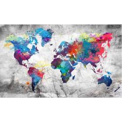 Barevná mapa světa